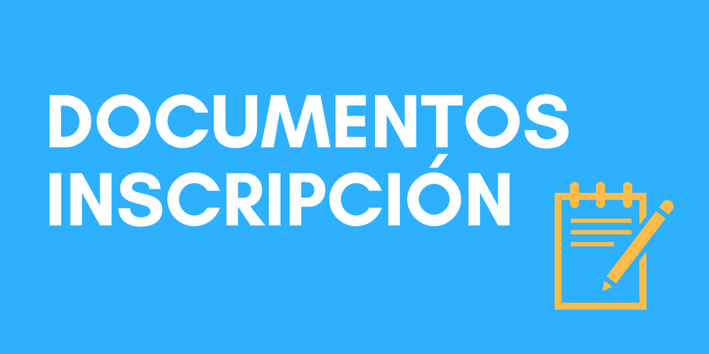 Documentos Inscripción