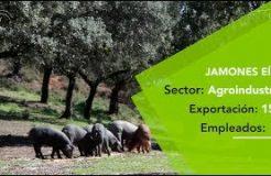 Jamones Eíriz exporta el cerdo ibérico de Jabugo a Europa, Asia y Oceanía
