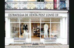 """Webinario moda: """"Cómo vender las colecciones Post Covid 19"""""""