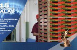 GRUPO LA CAÑA. Finalista a los Premios Alas en la categoría de Empresa Exportadora por Granada