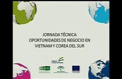 Jornada Técnica sobre Oportunidades de Negocio en Corea del Sur y Vietnam