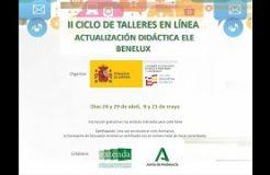 CICLO DE TALLERES ENSEÑANZA DEL ESPAÑOL EN BENELUX