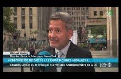Entrevista a Michael Wieting, director de la Oficina de Extenda en Nueva York (Canal Sur TV)