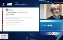 """Ponencia de Igor Urra y Karine Brück en Extenda Global: """"Planes de contigencia para afrontar el Brexit"""""""