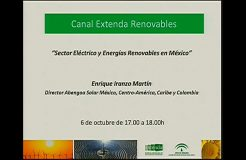 Jornada virtual: Energías Renovables en México, nuevos desafíos