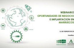 Webinario Oportunidades Negocio e Implantación Marruecos