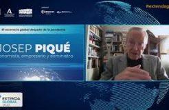 """Ponencia magistral de Josep Piqué en Extenda Global: """"El escenario global después de la pandemia"""""""