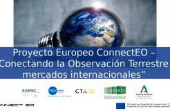 """Webinario de presentación del """"Proyecto Europeo ConnectEO"""""""