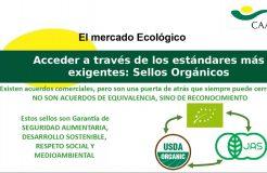 """Webinario """"Exportación de productos ecológicos a Estados Unidos"""""""