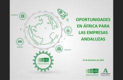 """Webinario """"Oportunidades en África para las empresas andaluzas"""""""
