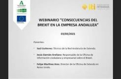 """Webinario: """"Consecuencias del Brexit en la empresa andaluza"""""""