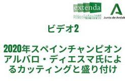 SEMINARIO SOBRE EL CORTE Y EMPLATADO DEL JAMÓN (Audio en japonés)