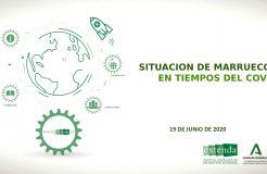"""Webinario """"Retos y oportunidades en el marco del Covid-19 en Marruecos"""""""