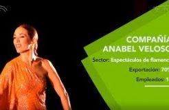 El flamenco de Anabel Veloso pisa con fuerza los escenarios de Europa, África, Asia y América