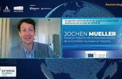 """Ponencia de Joechen Mueller en Extenda Global: """"La agenda comercial de la UE: apoyar la recuperación económica de la crisis del Covid-19"""""""