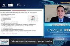 """Ponencia de Enrique Feás en Extenda Global: """"Internacionalización en Europa tras la pandemia: desafíos y oportunidades"""""""