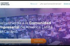 """Webinario """"ConnectAmericas: Internacionalización en América Latina y el Caribe"""""""