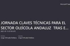"""JORNADA """"CLAVES TÉCNICAS PARA EL SECTOR OLEÍCOLA ANDALUZ  TRAS EL BREXIT"""""""