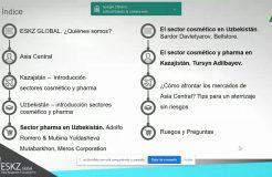 Webinario: Sector cosmético y pharma en Kazajistán y Uzbekistán