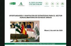 Oportunidades para la exportación agroalimentaria a EE.UU. bajo el escenario del COVID-19
