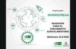 """Webinario Proyecto Inverscreaa: """"Inversión para el crecimiento agroalimentario"""""""