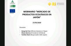 """Webinario: """"Mercado de productos ecológicos en Japón"""""""