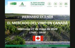 """Webinario: """"El mercado del vino en Canadá"""""""