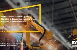 """Webinario """"Referencias estratégicas y legales a tener en cuenta en el mercado África-Mena"""""""