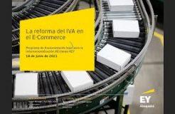 """WEBINARIO """"La reforma en IVA del Comercio Electrónico"""""""