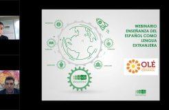 Presentación del portal 'Olé Espanhol' de cursos de español en Andalucía