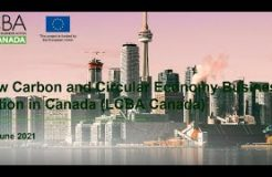 """Webinario """"Low Carbon and Circular Economy Business Action in Canadá"""""""