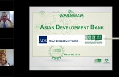 Webinario sobre el Asian Development Bank