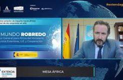 """Ponencia de Raimundo Robredo en Extenda Global: """"La política exterior de España hacia África y el papel de las empresas"""""""