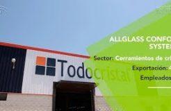 Allglass Systems triunfa en más de 40 países con sus innovadoras cortinas de cristal
