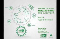 """Webinario: """"Perspectivas del Mercado Chino tras el COVID-19 para el Sector Agroalimentario"""""""