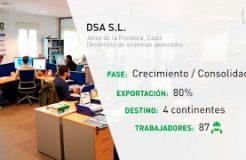 DSA, industrialización con firma andaluza en 4 continentes