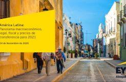 """Webinario """"América Latina: panorama macroeconómico, legal, fiscal y precios de transferencia para 2021"""""""