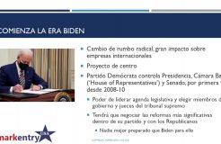 """Webinario """"Era Biden. Impacto y oportunidades para empresas internacionales en EEUU"""""""