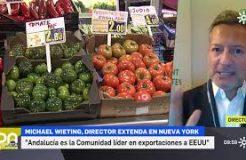 Entrevista al director de Extenda en Nueva York en el Programa Despierta Andalucía (Canal Sur)
