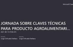 """JORNADA """"CLAVES TÉCNICAS PARA PRODUCTO AGROALIMENTARIO TRAS EL BREXIT"""""""