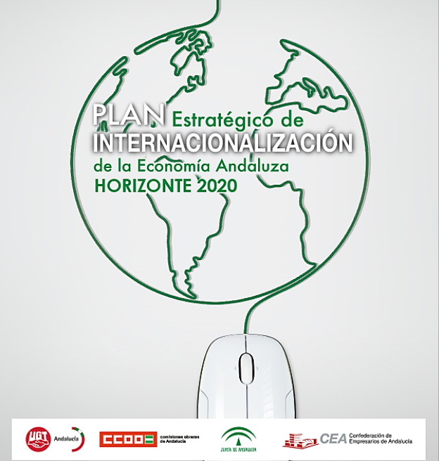 Portada plan de internacionalización horizonte 2020
