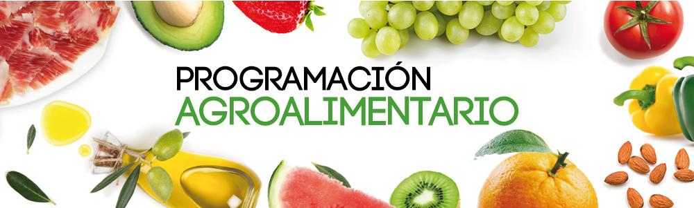 cabecera programación sector agroalimentario 2018