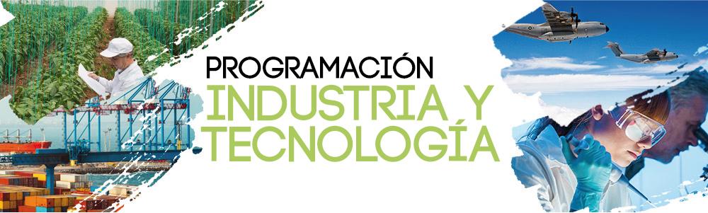 cabecera programación sector industria 2018