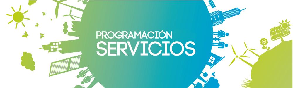 cabecera programación sector servicios 2018