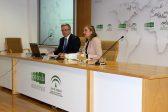 La consejera delegada de Extenda, Vanessa Bernad, inauguró la jornada junto a al Embajador de la República de Kazajistán en España, Konstantin Zhigalov