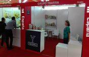 Stands de empresas andaluzas en la Feria Internacional de La Habana