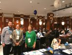 La consejera delegada de Extenda, Vanessa Bernad, junto a las empresas andaluzas en ICEF Berlín