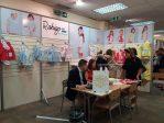 Stand de una de las empresas andaluzas en INDX Kidswear