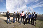 Vista de agentes internacionales a la Plataforma Solar de Almería