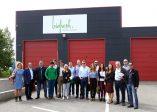 Empresas andaluzas visitan una de las empresas extranjeras en la misión directa a Bélgica y Reino Unido